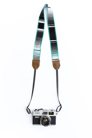 Viajero Camera Strap - Azul | LBLAxTK + Gunn & Swain Collaboration