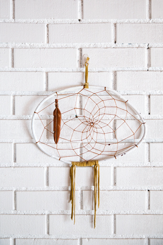 Extra Large Authentic Native American-Made Dreamcatcher