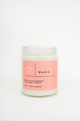 Mama ♥ Soy Candle