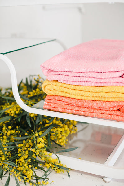 Beijos x G&S | Caliente Tropics: Bright Yellow Mexican Blanket