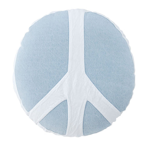 Major Peace Out Circle | Denim