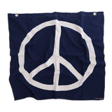 War Is Dumb! Flag | Indigo Denim