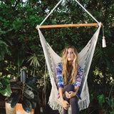Crochet & Fringe Detailed Hammock Swing
