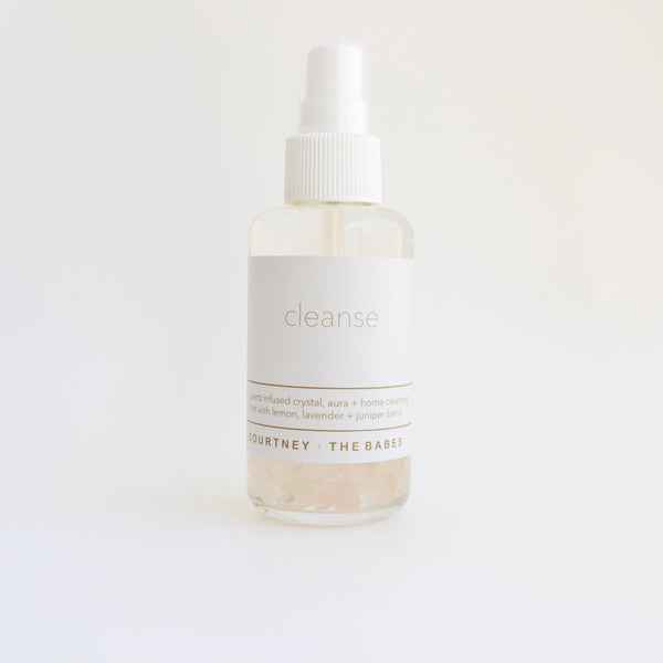 Cleanse Crystal, Aura + Home Mist