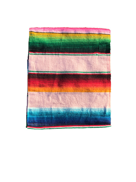 LIMITED EDITION // The Colimas Mexican Serape Blanket