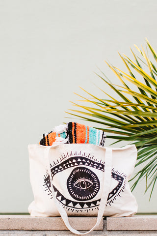 Eye Sea You Canvas Tote Bag