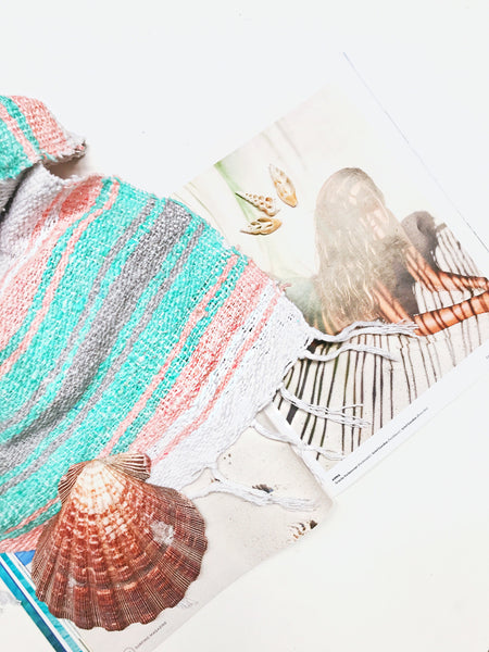 Limited Edition // Sunset Beach Pastel Mexican Blanket