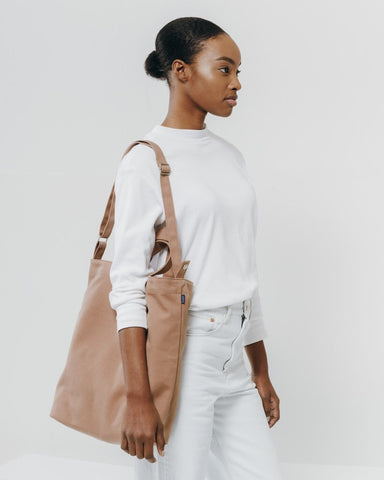 Fawn Earth Tone Canvas Tote Bag
