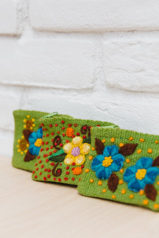 Handmade Peruvian Wool Coin Purse