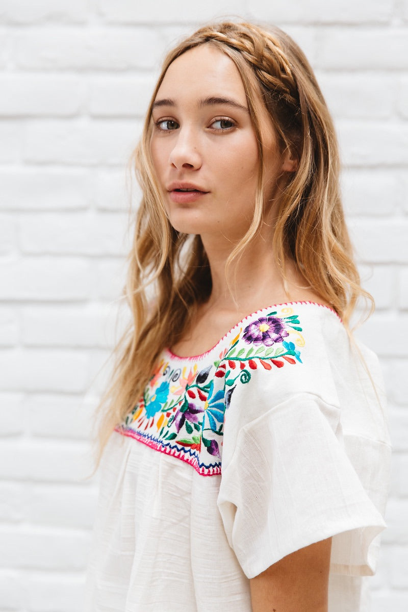 Isabel Vintage Style Mexican Top