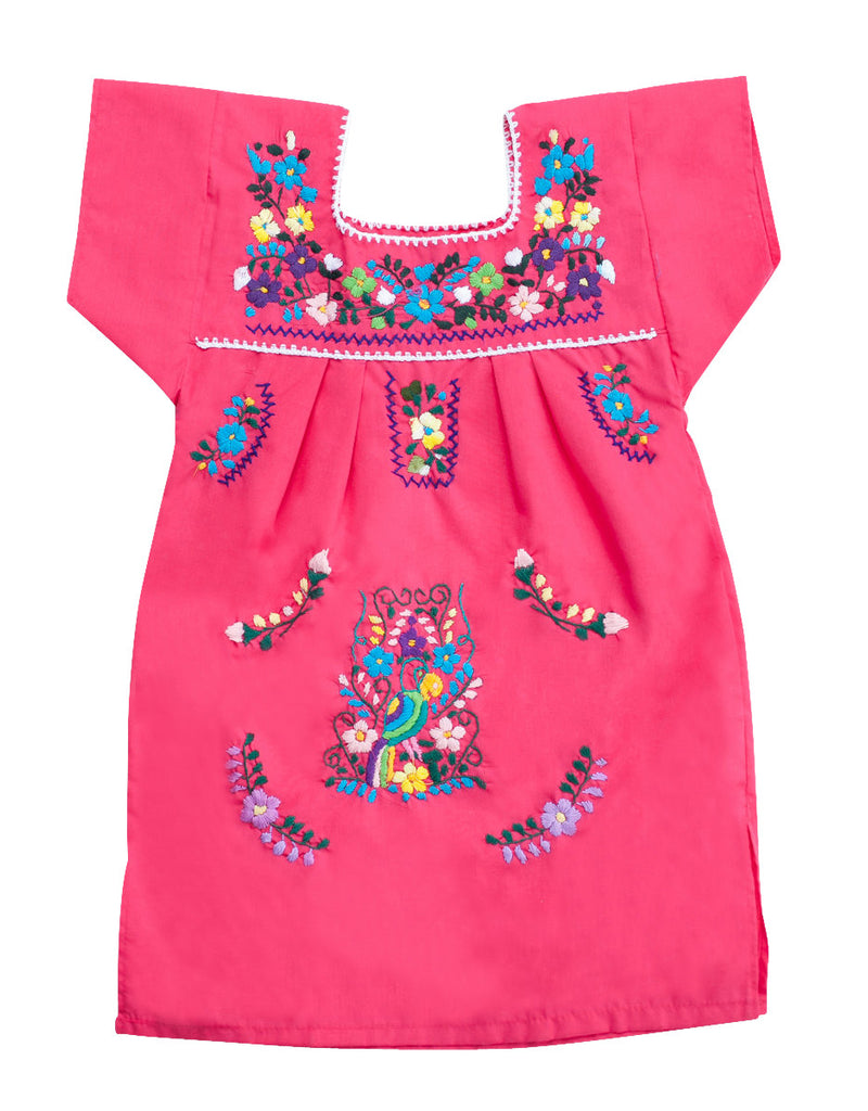 The Amorcito Dress Bright Colored Mexican Children S