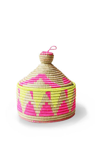 Neon Geometric Marrakech Basket
