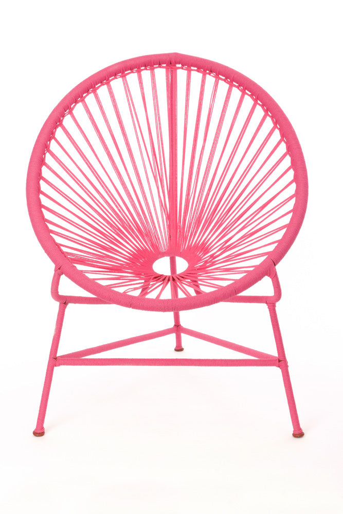 African Handmade Bright Pink Childrenu0027s Acapulco Style Chair ...