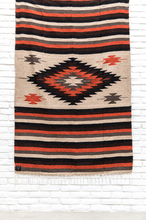 The Prism Blanket: Earth Tone Heavy Weight Mexican Blanket