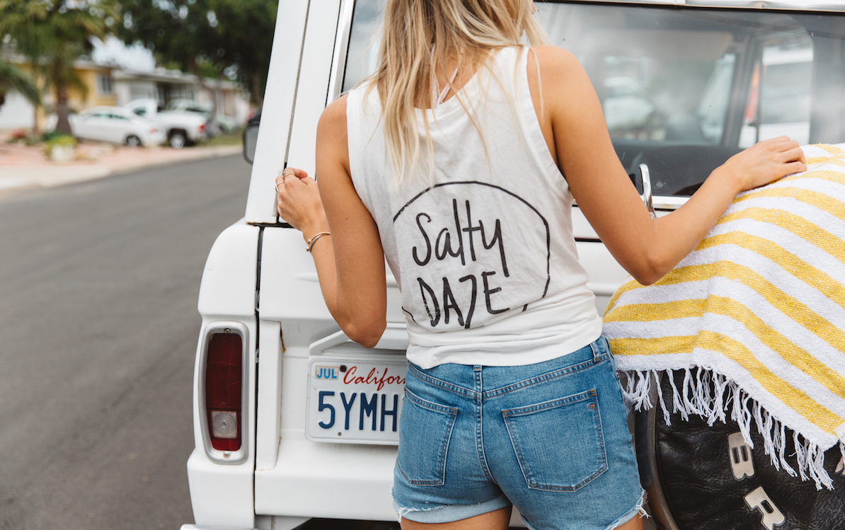Salty Daze Tank Top - Large Only
