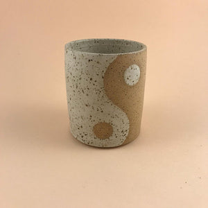 Speckled Yin Yang Tumbler