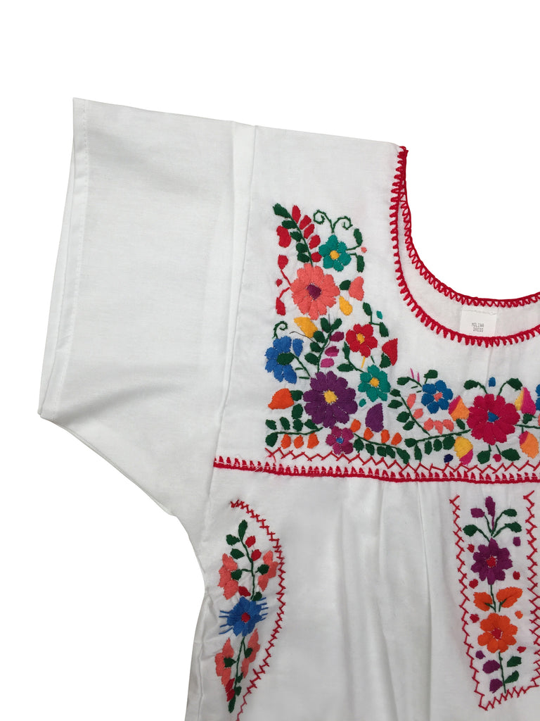 ... The Amorcito Dress: Bright Colored Mexican Children's Dress ...
