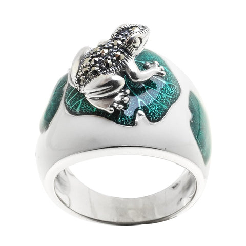 bague art deco animal