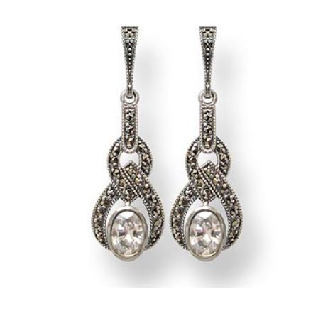 Boucles d'oreille Bonnie Zirconium