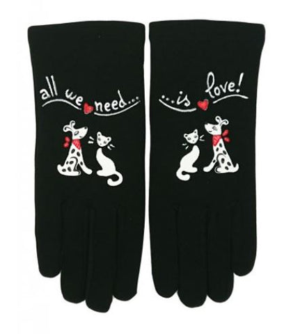 Gants All we need is Love