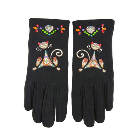 gants love cat multi