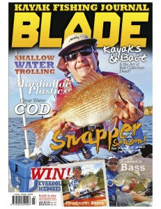Blade Kayak Fishing Journal Cover