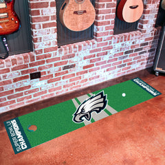 Philadelphia Eagles Super Bowl LII Champions Starter Putting Green Mat