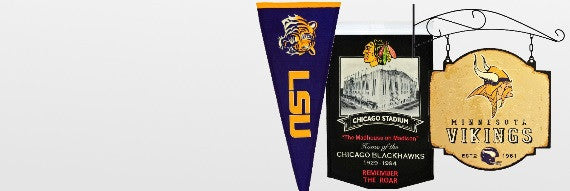 Sports Pennants and Banners