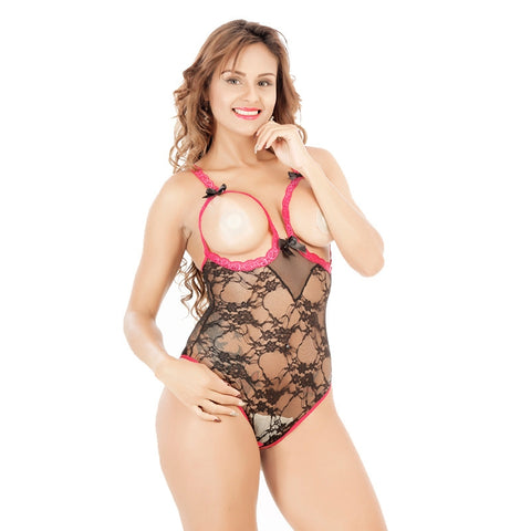 Buy Online  Women Sexy Adult Lingerie Exposed Chest Hollow Lace Sling Halter Underwear, Size: M Lingerie - MEGA Discount Online Store Ghana
