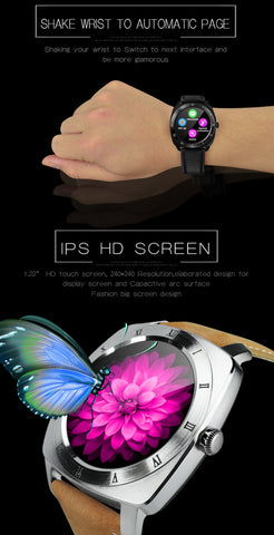 ... DOMINO DM88 Bluetooth V4.0 Heart Rate Smart Watch for iOS   Android  Mobile Phone d151933fc34