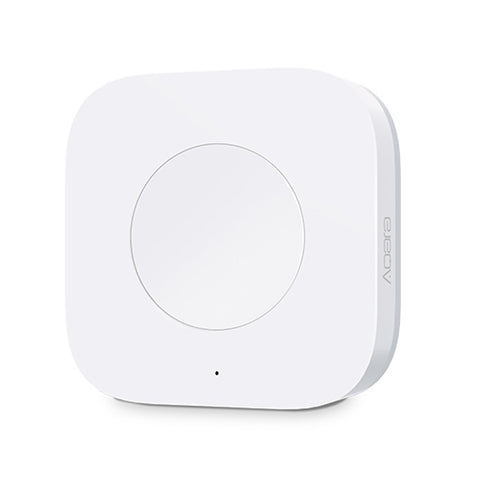 Original Xiaomi Aqara Wireless Switch (Upgraded Version) Zigbee System  Remote Control Switch, Need to Work with (CA0001) Product(White)