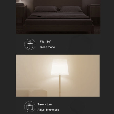 Xiaomi Mijia Home APP Aqara Magic Cube Controller Zigbee Version Six  Actions Controlled, Need to Work with (CA1001) Product(White)