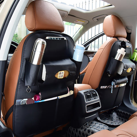 Buy Online  Auto Car Seat Back Organizer Car Seat Hanging Bag Storage for Drinks Umbrellas and Napkin Bags (Black) Car Accessories - MEGA Discount Online Store Ghana