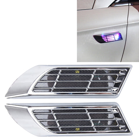 Buy Online  2 PCS Car Body Side Solar Decorative Colorful Strobe Warning Outlet Light Car Accessories - MEGA Discount Online Store Ghana
