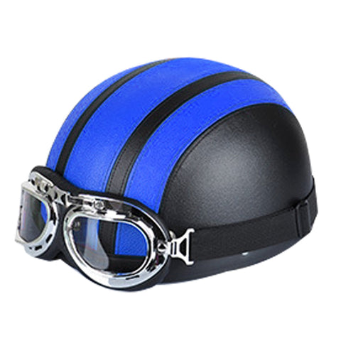 Winter Season Motorcycle Breathable Safty Helmet(Black Blue Car Accessories - MEGA Discount Online Store Ghana