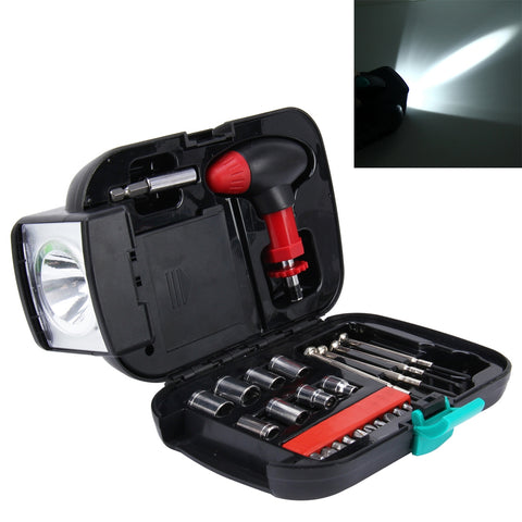 Buy Online  24 PCS Portable Flashlight Tool Box Set - Portable Auto, Home, Emergency Tool Kit with Flashlight Car Accessories - MEGA Discount Online Store Ghana
