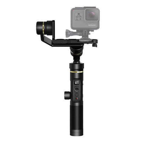 Feiyu G6 Plus Bluetooth WiFi 3-Axis Stabilized Handheld Gimbal Brushless Stabilizer for GoPro, DSLR Cameras, Smartphones(Black)
