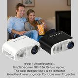 Buy Online  GP802A 100 Lumens Double HDMI HD Mini Projector for Home Theater / School(Black) Camera - MEGA Discount Online Store Ghana