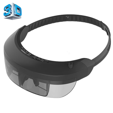 VISION-730 98 inch Private Virtual Theater Monocular Video Glasses Display with 8GB Memory, Support 1080P Video & Music & Picture & E-book & TF Card & AV-IN Play