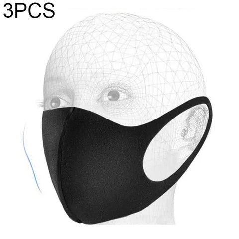 3 PCS Dust-proof Breathable Wind-proof Fog-proof Disposable Mask