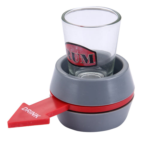 Buy Online  Spin The Shot Novelty Drinking Game Turntable Toy Playing Spin Bottle Props with Shot Glass for Bar, KTV, Home Party Smokers Inn - MEGA Discount Online Store Ghana