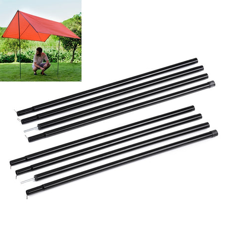 Naturehike NH15A001-K Awning Tent Steel Rod Pole Sun Shelter Support Camping Bar Reinforced