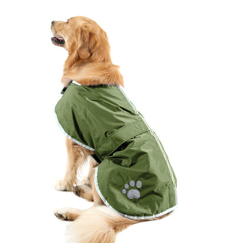 Buy Online  New Autumn and Winter Style Golden Retriever Labrador Huge Pet Dog Cotton Garment with Reflective Tape,Size: L, Bust: 64-72cm, Neck: 39-44cm(Army Green) Pet Care - MEGA Discount Online Store Ghana