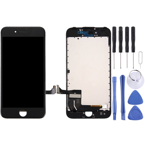 Buy Online  LCD Screen and Digitizer Full Assembly for iPhone 7(Black) Phones Spare Parts - MEGA Discount Online Store Ghana