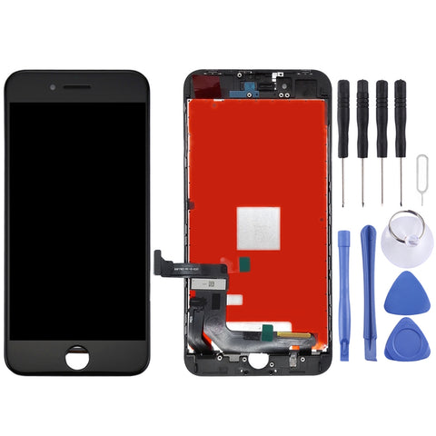 Buy Online  LCD Screen and Digitizer Full Assembly for iPhone 8 Plus(Black) Phones Spare Parts - MEGA Discount Online Store Ghana