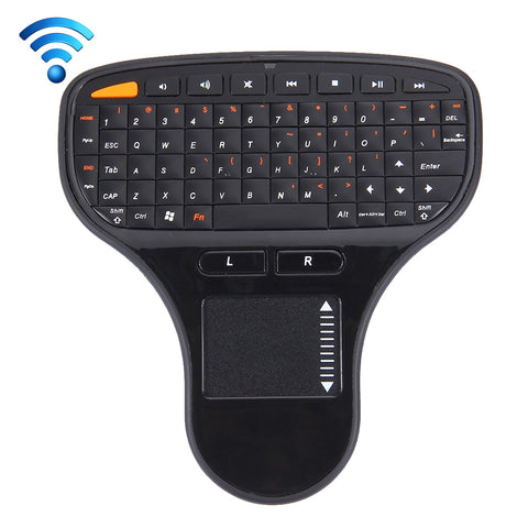 Buy Online  N5903 2.4GHz Mini Wireless Keyboard with Touchpad & USB Mini Receiver, Size: 127 x 134 x 25mm(Black) Computer Accessories - MEGA Discount Online Store Ghana