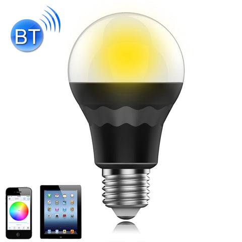 7.5W RGB + Warm Light Smart Bluetooth Atmosphere Light Bulb Multi Color Rectangular Remote Control Adjustable Brightness with 15 LED Lights