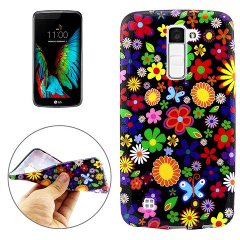 Buy Online  LG K10 Multi Colored Flower Pattern Soft TPU Protective Cover Case LG Cases - MEGA Discount Online Store Ghana