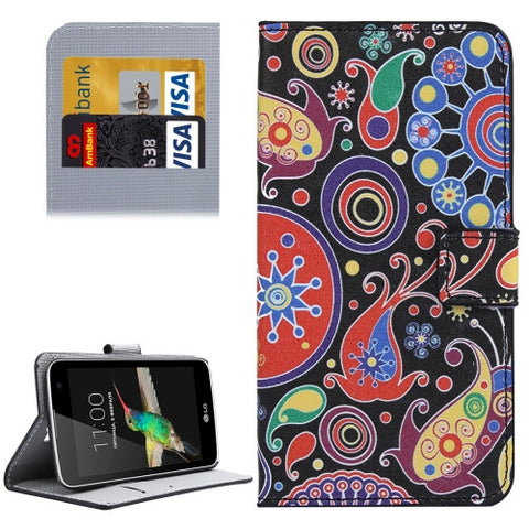 Buy Online  LG K4 Acaleph Pattern Leather Case with Holder & Card Slots & Wallet LG Cases - MEGA Discount Online Store Ghana