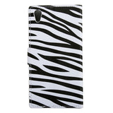Buy Online  Sony Xperia X Performance Zebra Pattern Leather Case with Holder & Card Slots & Wallet Sony Cases - MEGA Discount Online Store Ghana